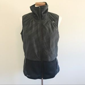 Womens Nike Therma-fit Black vest